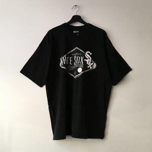 1998 Vintage Graphic Tee Shirt White Sox MLB XXL